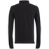 Brave Soul Men's Lincoln Long Sleeve Polo Shirt - Black: Image 2