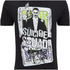 DC Comics Men's Suicide Squad Harley and Joker Cards T-Shirt - Black: Image 5