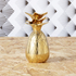 Pineapple Small Trinket Pot/Shot Glass - Matt Brass: Image 1