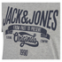 Jack & Jones Men's Originals Raffa T-Shirt - Light Grey Melange: Image 3