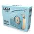 Akai A60010BLDAB DAB Retro Radio - Blue: Image 3