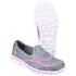 Skechers Kids' Go Walk 2 Relay Shoes - Grey: Image 3