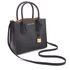 MICHAEL MICHAEL KORS Women's Mercer Mid Messenger Tote Bag - Black: Image 3