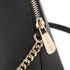 MICHAEL MICHAEL KORS Women's Cindy Large Dome Cross Body Bag - Black: Image 6