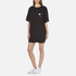 Marc Jacobs Women's T-Shirt Dress with Emblem - Black: Image 2