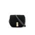 Marc Jacobs Women's The Jane West End Shearling Saddle Bag - Black: Image 1
