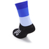 PBK Race High Cuff Socks - Blue: Image 2