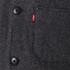 Levi's Men's Wool Engineers Coat - Black Heather: Image 6