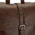 Ted Baker Men's Earth Leather Backpack - Dark Tan: Image 4