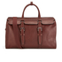 Ted Baker Men's Shalala Leather Holdall Bag - Tan: Image 1