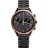 Uniform Wares Men's C41 Pvd Black Linked Bracelet Wristwatch - Black: Image 1