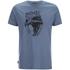 Animal Men's Wild T-Shirt - Cadet Navy Marl: Image 1