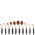 Niko Pro Complete Ova Brush Set - Black/Rose Gold: Image 1