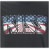Kiss Mens American Flag T-Shirt - Zwart: Image 3