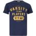 Varsity Team Players Men's Gym T-Shirt - Navy: Image 1
