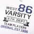 Varsity Team Players Men's West 86 T-Shirt - White: Image 3
