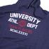 Varsity Team Players Men's University Athletic Hoody - Navy: Image 3