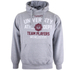 Varsity Team Players Men's University Athletic Hoody - Grey: Image 1