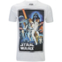 Star Wars Mens New Hope Poster T-Shirt - Wit: Image 1