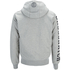 Crosshatch Men's Clarkwell Borg Lined Zip Through Hoody - Grey Marl: Image 2