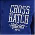 Crosshatch Men's Clarkwell Borg Lined Zip Through Hoody - Mazarine Blue: Image 3