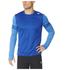 adidas Men's Response Long Sleeve Running T-Shirt - Blue: Image 7