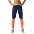 adidas Women's Stella Sport Long Mesh Training Tights - Blue/Pink: Image 1