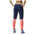 adidas Women's Stella Sport Long Mesh Training Tights - Blue/Pink: Image 3