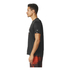 adidas Men's Performance Essentials Running T-Shirt - Black/Red: Image 2