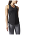 adidas Women's Sequencials Climalite Running Tank Top - Black: Image 6