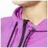 adidas Women's Full Zip Training Gym Hoody - Purple: Image 5