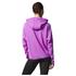 adidas Women's Full Zip Training Gym Hoody - Purple: Image 3