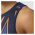 adidas Women's Stella Sport College Training Tank Top - Blue/Orange: Image 6