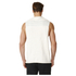 adidas Men's HVY Terry Training Tank Top - White: Image 3