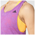 adidas Women's Deep Armhole Training Tank Top - Purple: Image 4