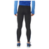 adidas Men's Response Long Running Tights - Black/Blue: Image 2