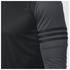 adidas Men's Response Long Sleeve Running T-Shirt - Black: Image 5