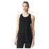 adidas Women's Deep Armhole Training Tank Top - Black: Image 1