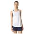 adidas Women's Lightweight Training Tank Top - White: Image 1