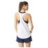 adidas Women's Lightweight Training Tank Top - White: Image 3