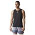 adidas Men's Sequencials Running Singlet - Black: Image 1