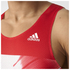 adidas Men's Adizero Running Singlet - Red: Image 4