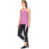 Under Armour Women's HeatGear Armour Racer Tank - Verve Violet/Metallic Silver: Image 4