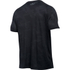 Under Armour Men's Jacquard Tech Short Sleeve T-Shirt - Black/Stealth Grey: Image 2