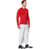 Under Armour Men's ColdGear Jacquard Crew Long Sleeve Shirt - Red/Graphite: Image 4