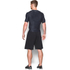 Under Armour Men's HeatGear Armour Printed Short Sleeve Compression T-Shirt - Black/Steel: Image 5