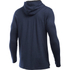 Under Armour Men's Triblend Pullover Hoody - Amidnight Navy: Image 2