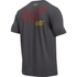 Under Armour Men's Retro Flash Short Sleeve T-Shirt - Carbon Heather: Image 2