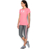 Under Armour Women's Favorite Big Logo Short Sleeve T-Shirt - Brilliance Pink: Image 4