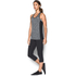 Under Armour Women's Colorblock Tech Tank - Black: Image 4